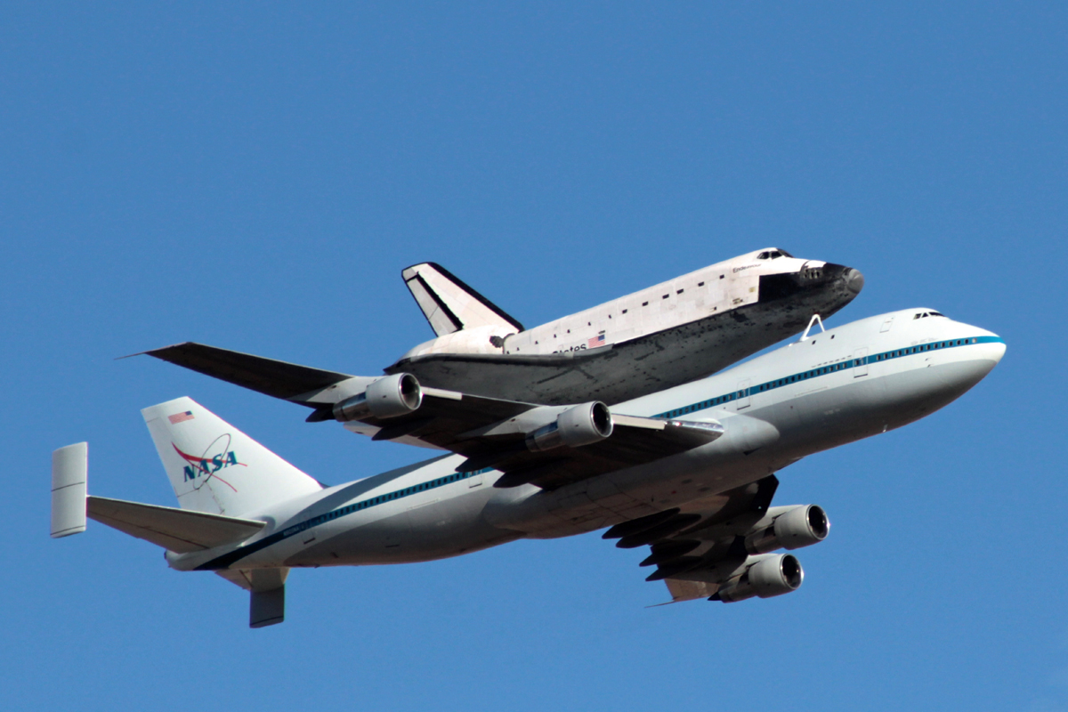 747 space shuttle papercraft - photo #5